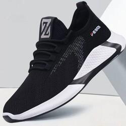 Giày Sneaker Vải Nam Kiểu Dáng Basic, Thích Hợp Đi Học, Chạy Bộ FSG178