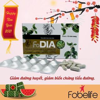 FoDIA -Viên uống hỗ trợ hạ đường huyết Fobelife- Hộp 30 viên. - TPDI0001 thumbnail