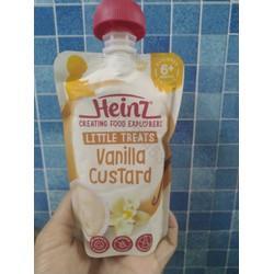 Váng sữa Heinz Úc vị vani 6m 120g