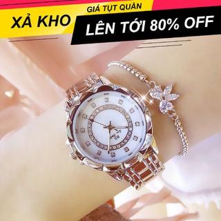 [ Xả Kho Nghỉ Tết ] Đồng hồ nữ BS BeeSister Thời Trang Cao Cấp - Dây Thép Không Gỉ - Beesister BNH thumbnail