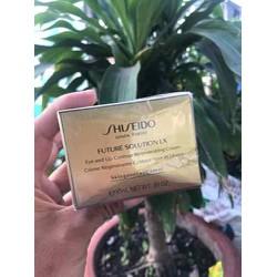 [THANH LÝ- HỘP MÓP] Kem dưỡng vùng mắt, viền môi Shiseido_ Future Solution LX Eye and Lip Contour Regenerating Cream 17ml