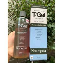 Dầu gội T/gel dành cho da đầu có gàu, vảy nến cho tóc sạch gàu hết ngứa