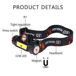 Đèn pin đội đầu siêu sáng đèn câu cá cao cấp - Đèn pin đội đầu siêu sáng đèn câu cá cao cấp thumbnail