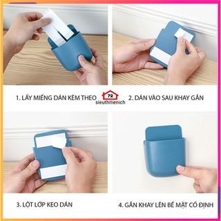 Khay gắn tường để đựng remote điều khiển máy lạnh tiện dụng giao màu ngẫu nhiên - 9402462784 5