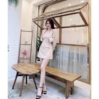 Áo vest nữ xịn sò kèm đầm cao cấp thời trang nữ cao cấp - MAIA87 thumbnail