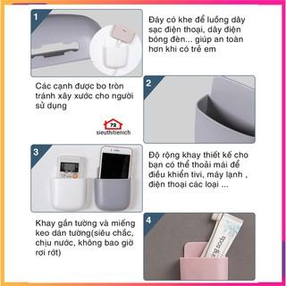 Khay gắn tường để đựng remote điều khiển máy lạnh tiện dụng giao màu ngẫu nhiên - 9402462784 4
