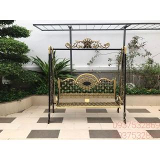 Xích đu nghệ thuật sân vườn nhôm đúc cao cấp - XD001 thumbnail