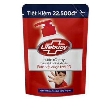 Nước Rửa Tay Lifebuoy Bảo Vệ Vượt Trội 1 Bịch 450Gr - 1 Bịch 450Gr thumbnail