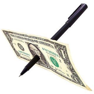 ảo thuật bút xuyên tiền xuyên giấy siêu hot - ảo thuật bút xuyên tiền xuyên giấy siêu hot thumbnail