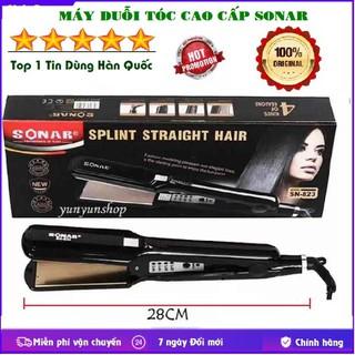Máy duỗi tóc, Máy ép tóc thẳng, Máy Uốn Tóc, Máy Là Tóc Sonar SN 832 cao cấp 4 mức điều chỉnh nhiệt - Máy ép tóc Sonar 823 thumbnail