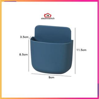 Khay gắn tường để đựng remote điều khiển máy lạnh tiện dụng giao màu ngẫu nhiên - 9402462784 8