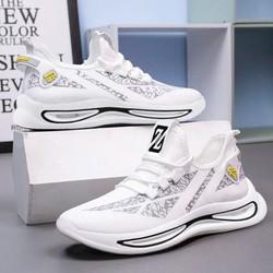 Giày Sneaker Vải Nam, Kiểu Dáng Năng Động, Thích Hợp Đi Học, Đi Chơi, Chạy Bộ FSG174