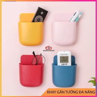Khay gắn tường để đựng remote điều khiển máy lạnh tiện dụng giao màu ngẫu nhiên - 9402462784 thumbnail