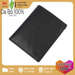 Bóp ví nam da bò thật 4U cao cấp dáng đứng, có nhiều ngăn đựng tiền và thẻ tiện dụng để vừa túi quần, phong cách sang trọng FB241