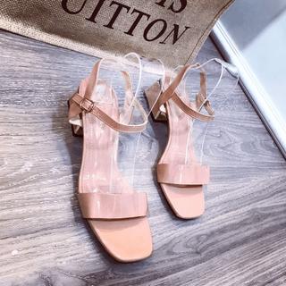 Giày sandal bản phối kim tuyến - sg26917 thumbnail