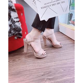 Giày sandanl cao gót viền loại xịn - jd36363 thumbnail