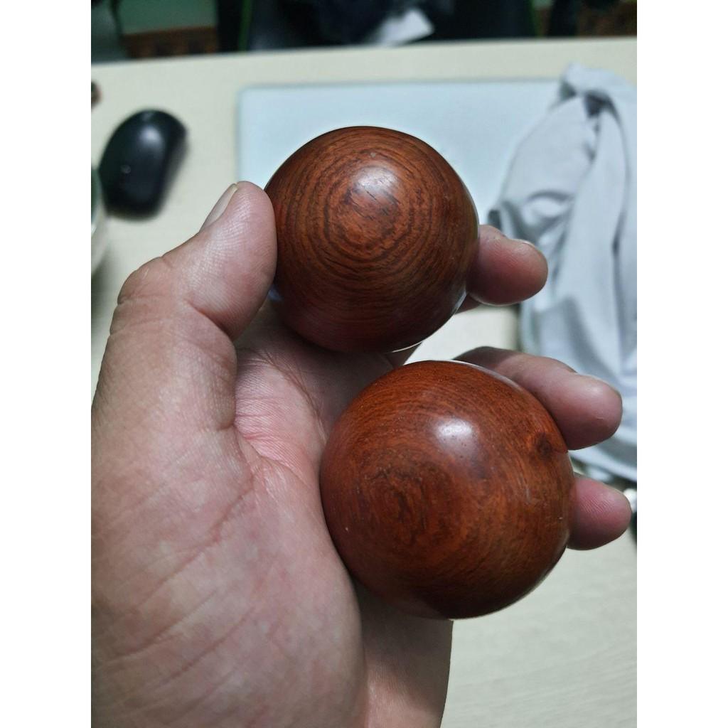 Bi cầu lăn tay gỗ hương Massage huyệt đạo bàn tay - Đường kinh 5mm. - 3835147476 4