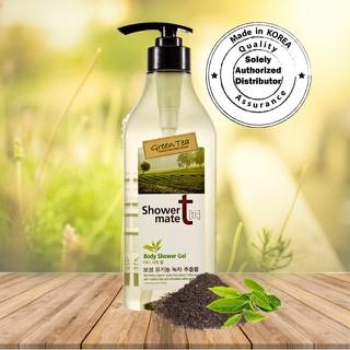 (HÀNG CHÍNH HÃNG) Sữa Tắm Tinh Chất Trà Xanh Shower mate green tea 550g (dưỡng ẩm ,làm sạch,hương thơm nhẹ nhàng) - SN97 FC thumbnail