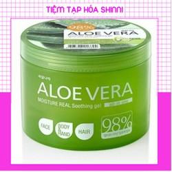 Gel dưỡng da đa tác dụng chiết xuất Lô Hội 98 phần trăm - Dưỡng da an toàn, hiệu quả cao, cung cấp độ ẩm cho da mềm mịn mỗi ngày