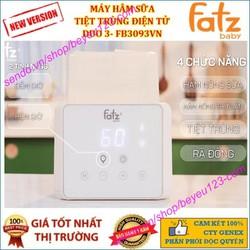Máy hâm sữa tiệt trùng điện tử Duo 3 - FATZ FATZBABY FB3093VN - FB3093VN