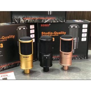 Micro thu âm livestream SDRD SD-203 âm thanh chuẩn - SP190521 thumbnail