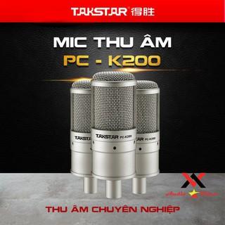 Mic thu âm chuyên nghiệp cao cấp Takstar PC-K200 tặng dây XLR-XLR hát karaoke livestream - SP000348 thumbnail
