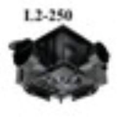 Quạt hút trung tâm Himpel Hàn Quốc L2-250