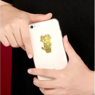 Miếng dán điện thoại trâu vàng may mắn chiêu tài chiêu lộc - tvmm thumbnail