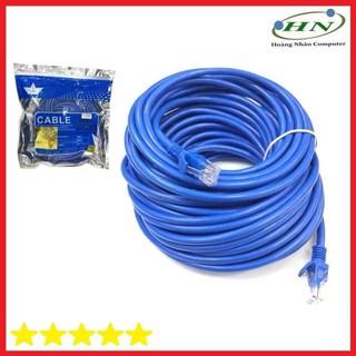 Cáp UTP CAT 6 AD-link 30 mét high speed màu xanh AD-6030B - 56756777 thumbnail