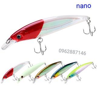 mồi câu cá shimano mồi cá có bi 11cm siêu bén - mồi câu cá shimano mồi cá có bi 11cm siêu bén thumbnail