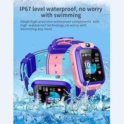 Đồng hồ định vị trẻ em KW28 nghe gọi định vị chống nước IP67 có Tiếng Việt