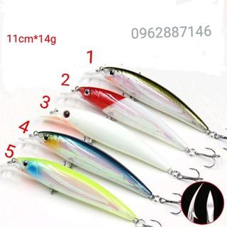 mồi câu cá shimano mồi cá có bi 11cm siêu hot - mồi câu cá shimano mồi cá có bi 11cm siêu hot thumbnail