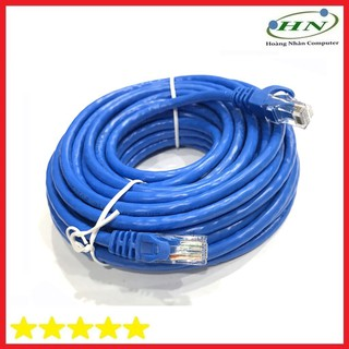 Cáp UTP CAT 6 AD-link 10 mét high speed màu xanh AD-6010H PURE COPER - 6457777 thumbnail