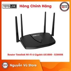 Router Totolink Wi-Fi 6 băng tần kép Gigabit AX1800 - X5000R - Hàng Chính Hãng
