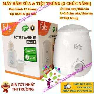 (Mẫu mới - Màu Trắng) Máy hâm sữa và thức ăn 3 chức năng Fatzbaby FB3003SL - Mono 1 - Fatzbaby FB3003SL thumbnail