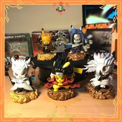 Tượng mô hình nhân vật Naruto lục đạo hiền nhân, Mandara-Obito lục đạo, Đệ Nhất tiên thuật, Sasuke