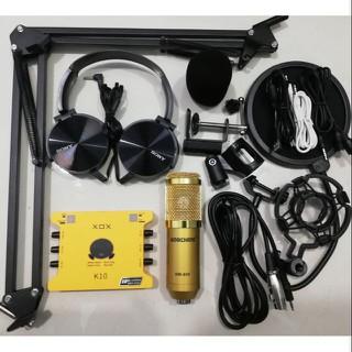 Combo thu âm livestream K10 bản 2020 và Bm900 dòng hay và phổ biến hiện nay - SP910000006 thumbnail