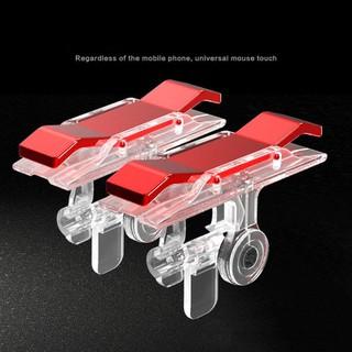 Bộ 2 nút bấm chơi game súng PUBG ROS dòng E9 cảm ứng đỏ trên điện thoại Chammart - SP000390H thumbnail