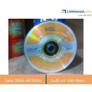 Đĩa trắng CD-R NEO 700MB - Cọc 50C - Hàng Việt Nam - NEO thumbnail