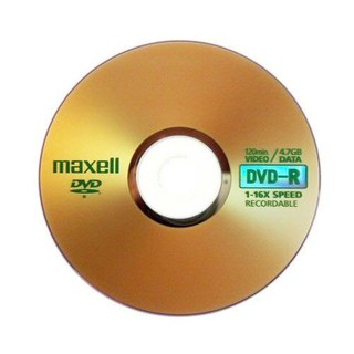 Đĩa trắng DVD-R Maxell 4.7GB - Made in Taiwan - Cọc 50 đĩa - DVDMAXELL TW thumbnail