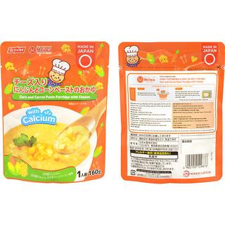 Cháo tươi Meiwa vị bắp cà rốt phô mai cho bé từ 6 tháng - 4902150129876 thumbnail