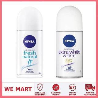 Combo 2 chai lăn khử mùi Nivea hàng nhập khẩu 50ml chai - 2 LĂN NIVEA NỮ thumbnail