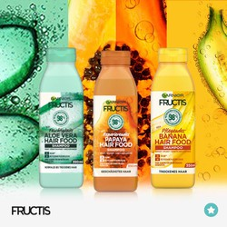Dầu gội xả hoa quả Garnier Fructis Hair Food 350ml Pháp