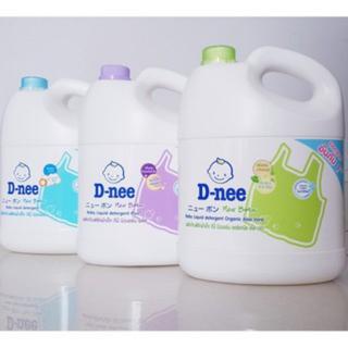 Nước giặt xả quần áo trẻ em Thái Lan Dnee 3000ml - Nước giặt xả Dnee - Nước Xả Vải - Nước Giặt Xả - KB02 thumbnail