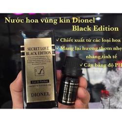 Nước Hoa Vùng Kín Dionel Secret Love đen