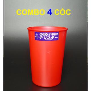 COMBO 4 CỐC NHỰA VIỆT NHẬT - q06 thumbnail
