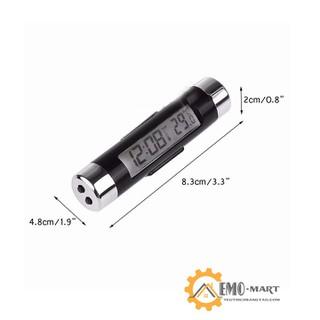 Đồng hồ điện tử trên ô tô mini v3 [ĐƯỢC KIỂM HÀNG] - 40244372 thumbnail