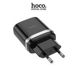 Cốc sạc nhanh Hoco C12Q Smart hỗ trợ QC3.0, công suất max 18W - Hãng phân phối chính thức