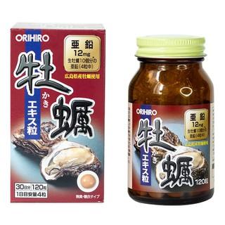 Tinh chất hàu tươi hỗ trợ tăng cường sinh lực nam Orihiro 120 viên - Tinh hàu tươi ORIHIRO NHẬT BẢN - ORIHIRO01 thumbnail