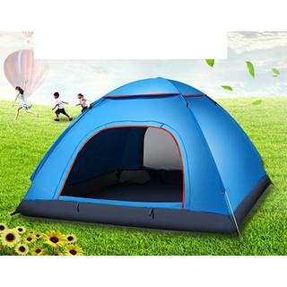 Lều Cắm Trại - Lều Du Lịch 3 Đến 4 Người Jx001 - 9075 thumbnail